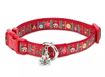 Disney Dog Collar - Mickey and Minnie Mouse Holiday