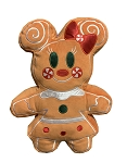 Disney Holiday Plush - Minnie Mouse Gingerbread - Scented