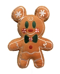 Disney Holiday Plush - Mickey Mouse Gingerbread - Scented