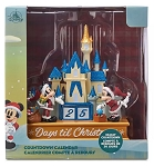 Disney Christmas Countdown Calendar - Mickey & Minnie with Castle