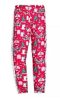 Disney Leggings for Girls - Mickey and Friends Holiday - Red