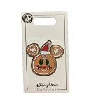 Disney Holiday Pin - 2020 Mickey Gingerbread Man