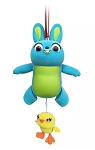 Disney Figurine Ornament - Ducky and Bunny Articulated - Toy Story 4