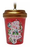 Disney Starbucks Ornament - Happy Holidays Cup - Red