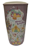 Disney Starbucks Travel Tumbler - Magic Kingdom - Park Map