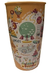 Disney Starbucks Travel Tumbler - Epcot - Park Map
