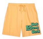 Disney Boxer Shorts for Men - Walt Disney World - Yellow
