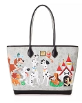 Disney Dooney & Bourke Bag - Disney Dogs - Gray Tote