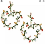 Disney BaubleBar Earrings - Mickey Mouse Holiday Lights