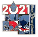 Disney 2021 Pin - Stitch - Walt Disney World