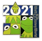 Disney 2021 Pin - Kermit - Walt Disney World