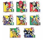 Disney 2021 Mystery Pin Set - Mickey & Friends - Mickey and Friends
