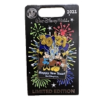 Disney 2021 Pin - Happy New Years - Mickey and Minnie