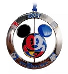 Disney Spinner Ornament - 2021 Mickey Mouse Icon - Walt Disney World