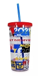 Disney Tumbler with Straw - 2021 Mickey & Friends - Walt Disney World