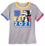 Disney T-Shirt for Girls - 2021 Minnie Mouse - Walt Disney World