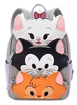 Disney Loungefly Backpack - Disney Cats - Gray
