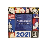 Disney Photo Frame Magnet - 2021 Mickey and Friends