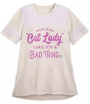 Disney Shirt for Women - You Say Cat Lady Like It's a Bad Thing