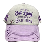 Disney Hat - Baseball Cap - You Say Cat Lady Like It's a Bad Thing