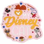 Disney Magnet - I Love my Disney Cat