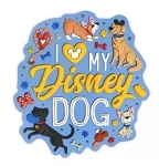 Disney Magnet - I Love my Disney Dog