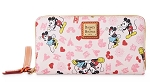 Disney Dooney & Bourke Wallet - Mickey and Minnie Love