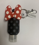 Disney Hand Sanitizer Keychain - Minnie Mouse Bow