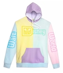 Disney Pullover Hoodie for Men - Walt Disney World - Pastel Colorblock