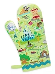 Disney Oven Mitt - Walt Disney World Map