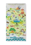 Disney Kitchen Towel - Walt Disney World Map