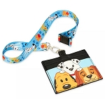 Disney Loungefly Lanyard & Credit Card Holder - Disney Dogs