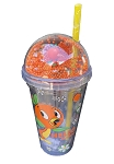 Disney Tumbler with Straw - 2021 Flower & Garden Festival - Orange Bird