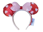 Disney Ears Headband - Valentine's Day - Minnie Mouse