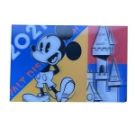 Disney Postcard - 2021 Mickey Mouse and Friends - Lenticular