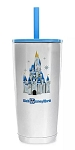 Disney Tumbler with Straw - Walt Disney World Starbucks - Stainless Steel