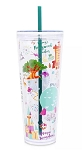 Disney Tumbler with Straw - Starbucks - Disney Parks - 4rd Edition
