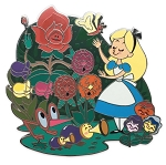 Disney Alice Pin - Alice in Wonderland Family