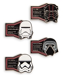 Disney Booster Pin Set - First Order - Galaxy's Edge