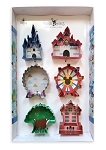 Disney Cookie Cutter Set - Disney Parks Shapes - Set of 6