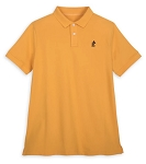 Disney Polo Shirt for Adults - Mickey Mouse - Yellow