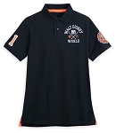 Disney Polo Shirt for Adults - Walt Disney World Collegiate - Black