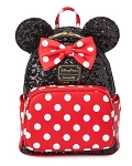 Disney Loungefly Backpack - Minnie Mouse Sequin and Polka Dot