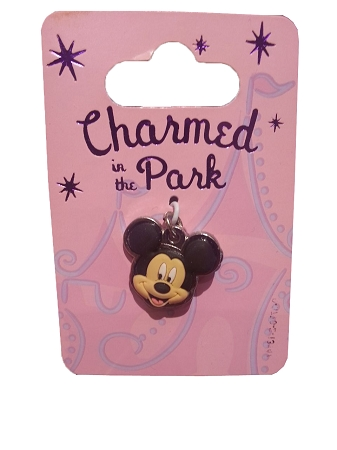 Disney Dangle Charm - Charmed in the Park - Mickey Mouse Face