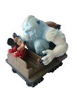 Disney Pull Back Toy - Expedition Everest - Mickey Mouse and Yeti