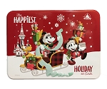 Disney Holiday Candy - Chocolate Peppermint Bark in Tin