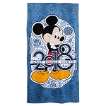 Disney Beach Towel - 2018 Mickey Mouse - Walt Disney World