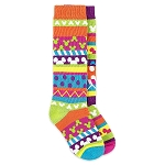 Disney Socks for Girls - Mickey Mouse Icon Striped