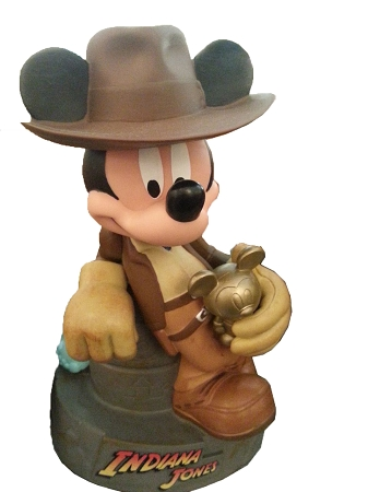 Disney Coin Bank - Indiana Jones - Mickey Mouse