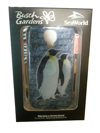 Sea World Samsung Galaxy 4 Phone Case - Two Penguins
